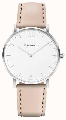 Paul Hewitt | Mens Sailor Line | Beige Leather Strap | PH-SA-R-5M-W-22S