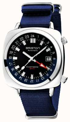 Briston Clubmaster GMT Limited Edition | Auto | Blue Nato Strap 19842.PS.G.9.NNB