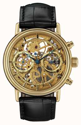 Sinn The Skeletonized Gold Chronograph 2300.010