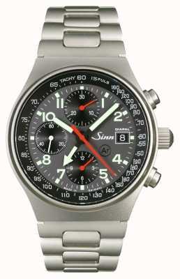 Sinn 144 St DIAPAL The World Time Chronograph 144.068