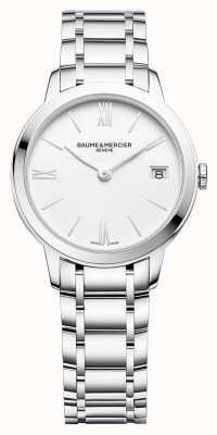 Baume & Mercier | Womens Classima | Stainless Steel Bracelet | White Dial | BM0A10335