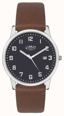 Limit | Mens Brown Leather Strap | Blue Dial | 5743.01