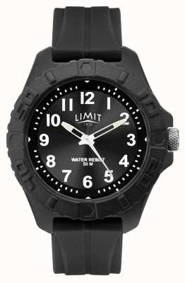 Limit | Mens Active Adult Analogue | Black Rubber Strap | 5754.01