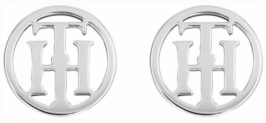 Tommy Hilfiger Classic Signature | Stainless Steel Stud Earrings 2780286