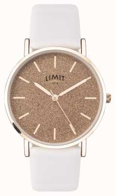 Limit | Womens Secret Garden | White Leather Strap | Pink Dial | 60044.73