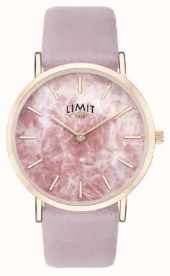 Limit | Womens Secret Garden | Purple Leather Strap | Pink Dial | 60051.73