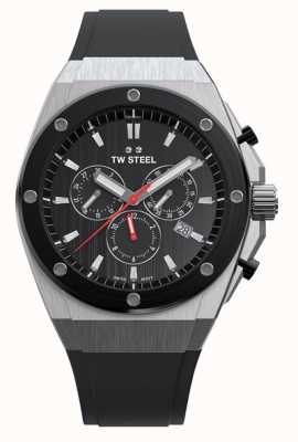 TW Steel   CEO Tech Limited Edition   Chronograph   Black Rubber   CE4042