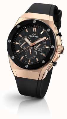 TW Steel | CEO Tech Limited Edition | Chronograph | Black Rubber | CE4048