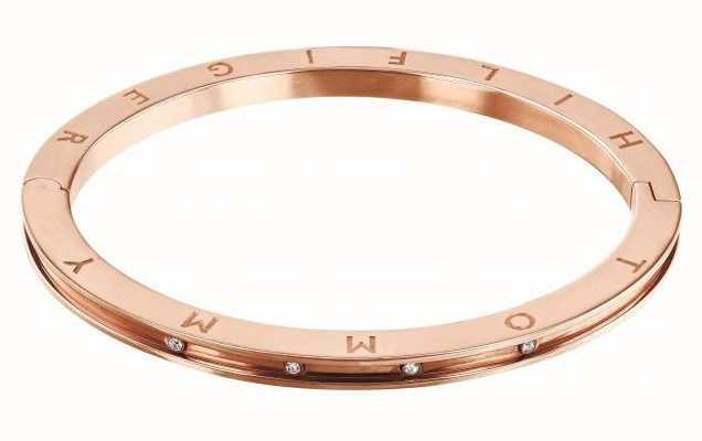 Tommy Hilfiger Dressed Up | Crystal Set | Rose Gold Bangle | 2780204