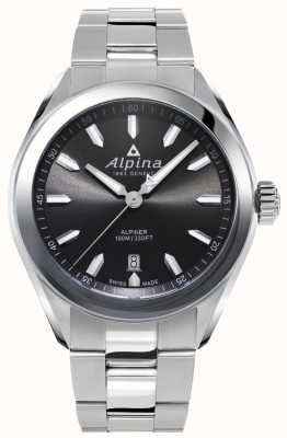 Alpina | Mens Alpiner | Stainless Steel Bracelet | Grey Dial | AL-240GS4E6B