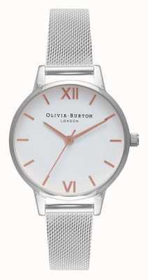 Olivia Burton | Womens | Midi | Stainless Steel Mesh Strap | OB16MDW22
