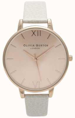 Olivia Burton | Womens | Sunray Dial | Mink Leather Strap | OB13BD11