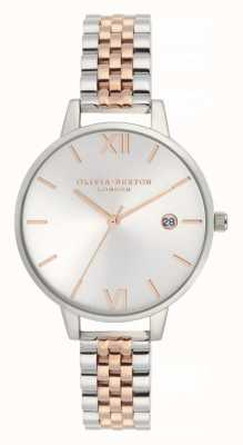 Olivia Burton | Womens | Demi Date | Two Tone Stainless Steel Bracelet | OB16DE06