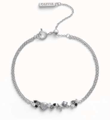 Olivia Burton | Under The Sea | Silver | Chain Bracelet | OBJSCB01