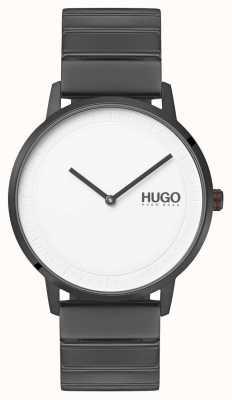 HUGO #echo | Grey IP Bracelet | White Dial 1520022