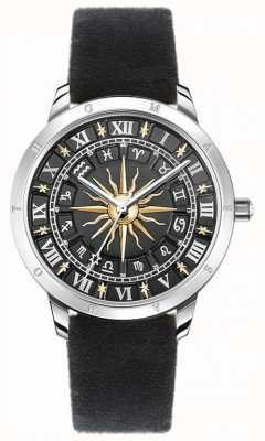 Thomas Sabo | Women's Sun Watch | Black Velvet Strap | Black 3D Sun Dial SET_WA0351-217-203-33