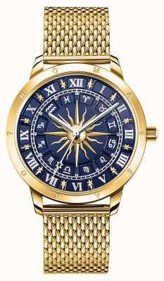 Thomas Sabo | Women's Glam Spirit Astro | Blue Dial | Gold Mesh | WA0352-264-209-33