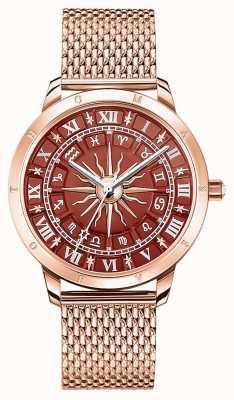 Thomas Sabo | Women's Glam Spirit Astro | Red Dial | Rose Gold Mesh | WA0353-265-212-33