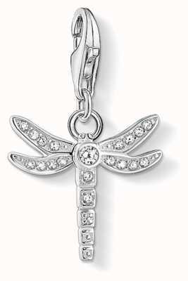 Thomas Sabo | Charm Pendant 'Dragonfly' | White Zirconia | 1800-051-14