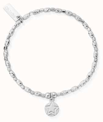 ChloBo | Sterling Silver 'Soul Glow' Bracelet | SBCFR2522