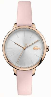 Lacoste | Women's Cannes | Pink Leather Strap | Silver Dial | 2001101