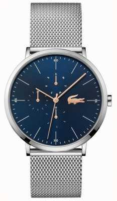 Lacoste   Men's Moon Multi   Steel Mesh Bracelet   Blue Dial   2011024