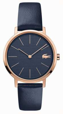 Lacoste | Women's Moon | Blue Leather Strap | Blue Dial | 2001071