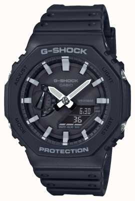 Casio CasiOak | G-Shock Carbon Core | Octagon Series | Black Resin Strap | GA-2100-1AER