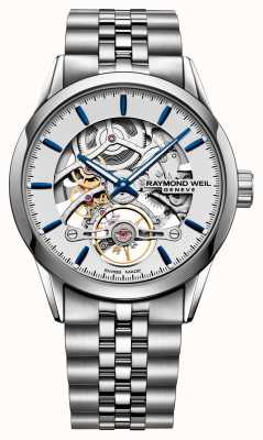 Raymond Weil Freelancer | Automatic | Skeleton Dial | Stainless Steel 2785-ST-65001