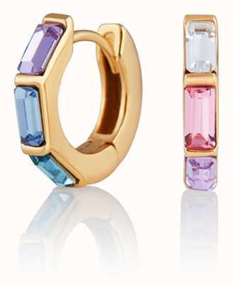 Olivia Burton   Rainbow   Huggie Hoop   Gold Earrings   OBJCOE59
