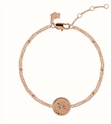 Radley Jewellery Star Gazing | Rose Gold Plated Moon And Stars Bracelet | RYJ3070S