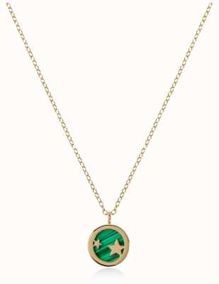 Radley Jewellery Stay Magical   Gold Plated Malachite Necklace   RYJ2102
