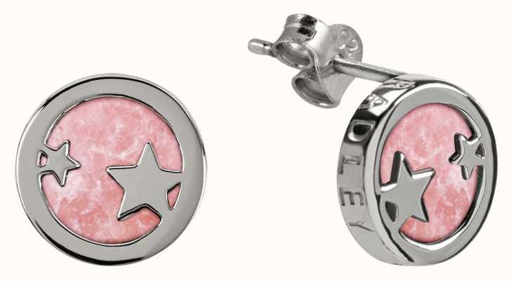 Radley Jewellery Stay Magical | Silver Rose Quartz Stud Earrings | RYJ1101