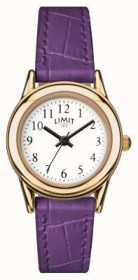 Limit Womens Purple Strap White Dial 6982