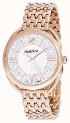 Swarovski | Crystalline Glam | Rose Gold Plated Bracelet | Silver Dial 5452465