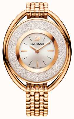 Swarovski | Crystalline | Oval | Rose Gold Plated Bracelet |White Dial 5200341