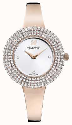 Swarovski | Crystal Rose | Rose Gold Tone Bracelet | Silver Dial | 5484073