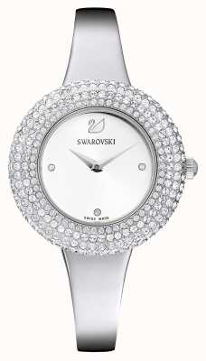 Swarovski | Crystal Rose | Stainless Steel Bracelet | White Dial | 5483853