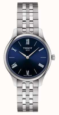 Tissot   Tradition   Women's Stainless Steel Bracelet   Blue Dial   T0632091104800