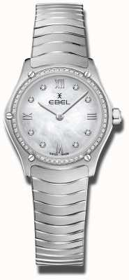 EBEL | Women's Sport Classic | Stainless Steel | Diamond Set Dial 1216475A