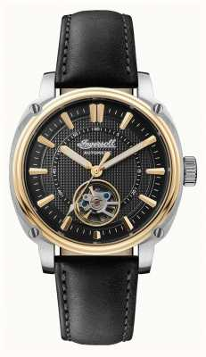 Ingersoll | The Director Automatic | Black Leather Strap | Black Dial I08102