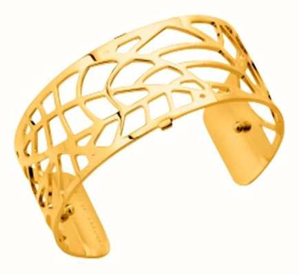 Les Georgettes 25mm Fougeres Gold Plated Bangle 70284080100000