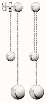 Calvin Klein   Stainless Steel Drop Earrings   KJ9VME000200