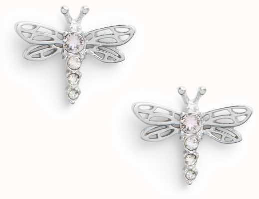 Olivia Burton   Dancing Dragonfly   Silver   Stud Earrings   OBJAME144