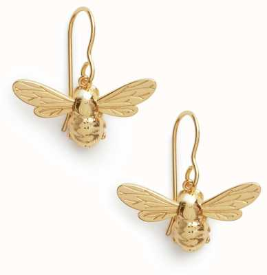 Olivia Burton   Lucky Bee   Gold   Sleeper Earrings   OBJAME172N