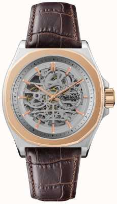 Ingersoll Men's 1892 The Orville | Automatic | Brown Leather Strap I09301B