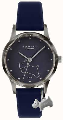 Radley | Women's Navy Silicone Strap | Navy Dial | RY2845