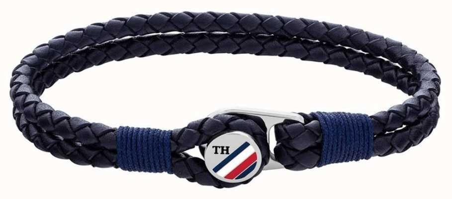 Tommy Hilfiger | Casual | Blue Button Leather Bracelet 2790221S