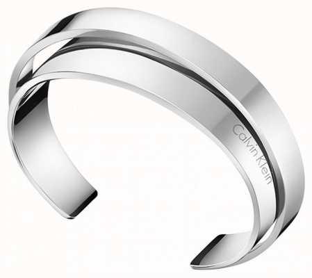 Calvin Klein   Unite   Stainless Steel Cuff Style Bangle   KJ5ZMF00010M