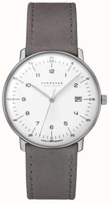 Junghans Max Bill MEGA Solar | Leather Strap 059/2021.04